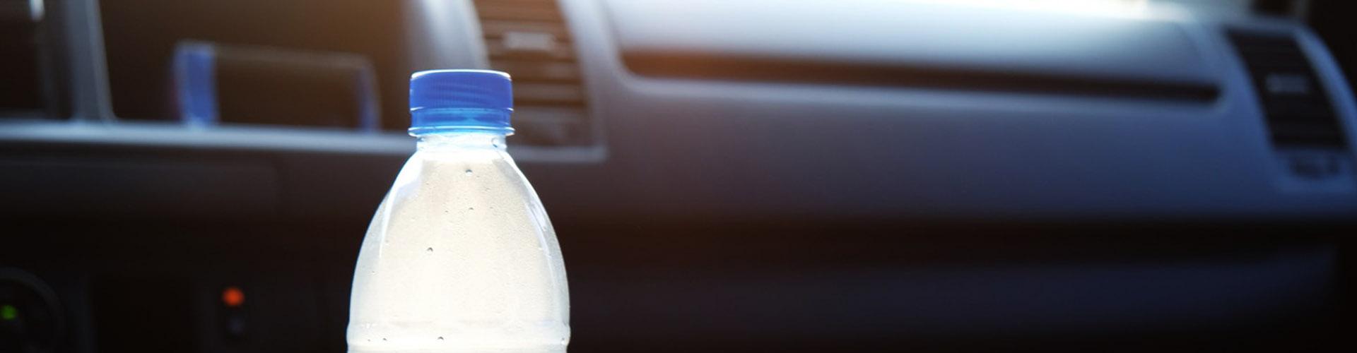 вода в автомобиле