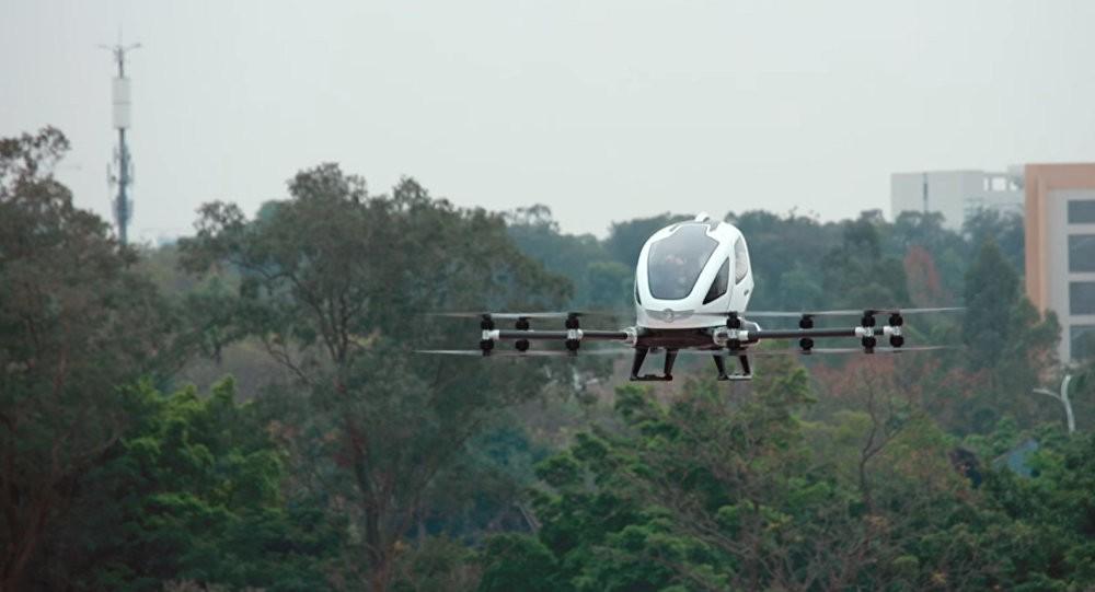 Uber представила прототип своего воздушного такси